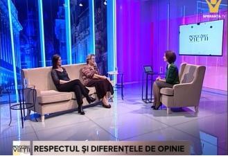 Emisiunea Provocarile Vietii la Speranta TV: Respectul si diferentele de opinie – 20.01.2016