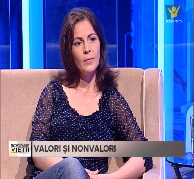 Emisiunea Provocarile Vietii la Speranta TV: Valori si nonvalori – 18.07.2016