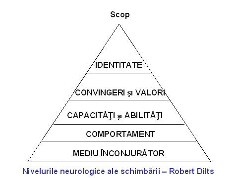 De ce ai ceea ce ai si de ce traiesti asa cum traiesti? – Piramida lui Dilts