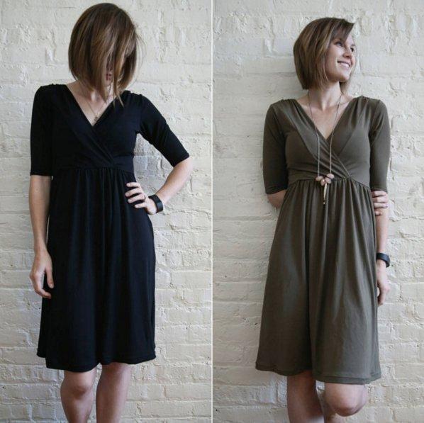 Wren Dress pattern by Colette