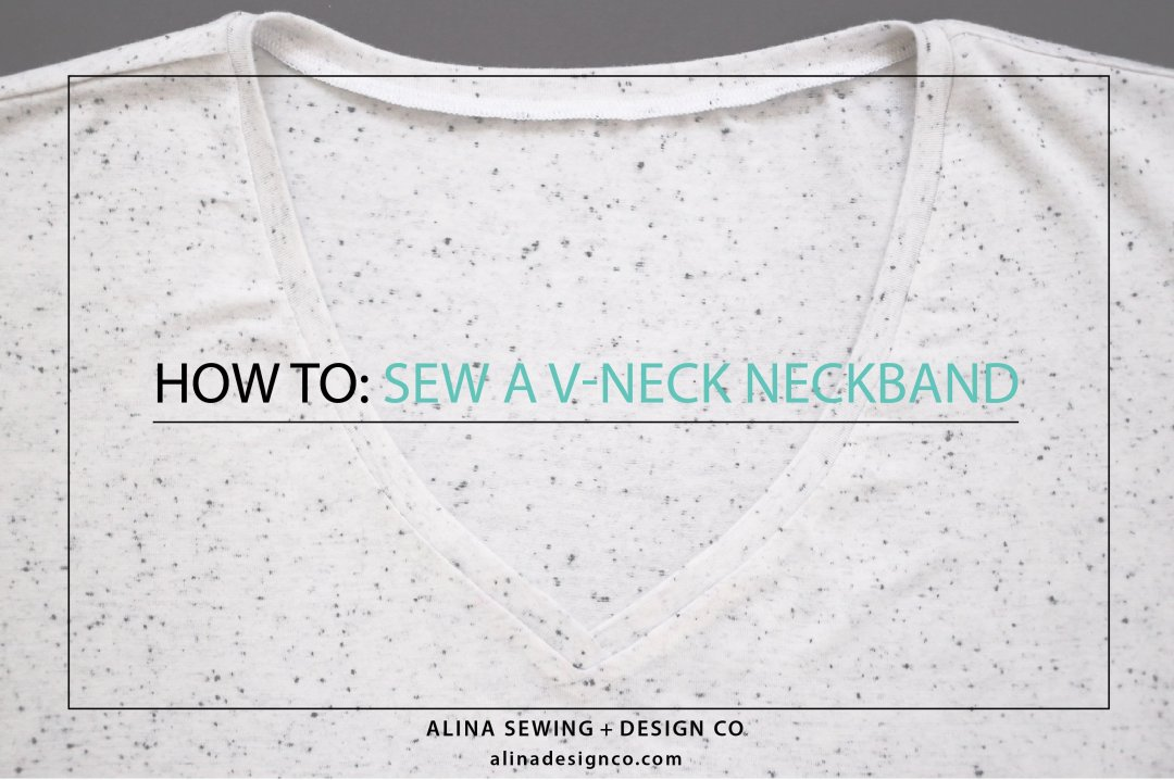 how-to-sew-a-v-neck-neckband