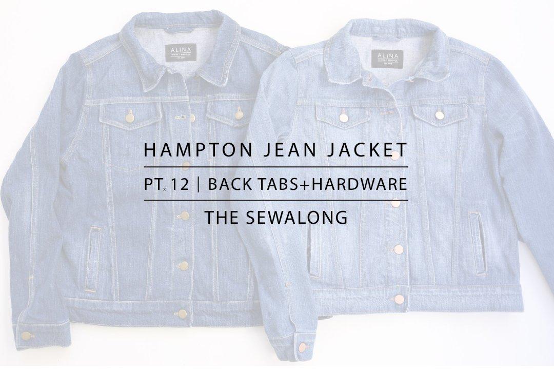 Hampton Jean Jacket Sewalong Pt. 12