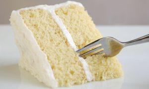 Prăjitură cu cremă de vanilie