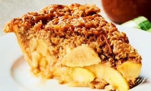 Prăjitură Krantz cu mere si ovaz