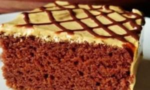 Prăjitură pufoasă cu cacao