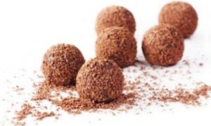 Bomboane cu cacao şi rom