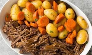 franjuri de vita cu cartofi noi si morcovi