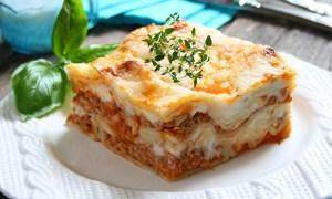 Lasagna cu legume crocante