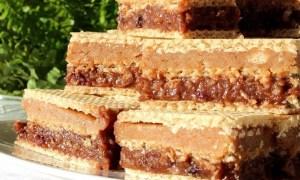 Prăjitură Lica cu cremă caramel