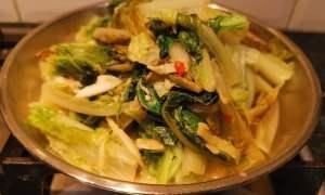 Salată taiwaneză de andive