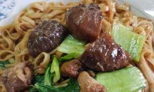 spaghetti in stil asiatic