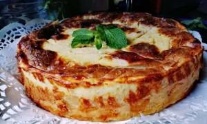 Tartă cu brânză sărată