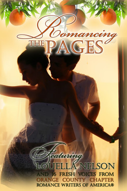 Book Cover: A Valentine For Lily, in the Anthology, Romancing the Pages