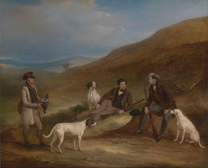 Grouse Shooting, John Ferneley