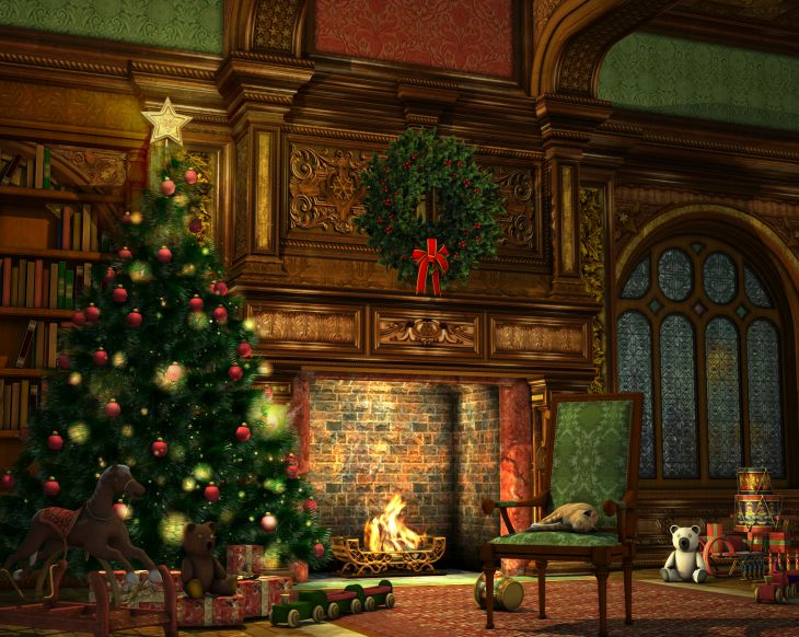 Wallpaper hd victorian christmas living room for mobile in merry old regency england simply romance fireplace