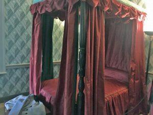 Photo of John Payne Todd's bedchamber at Montpelier