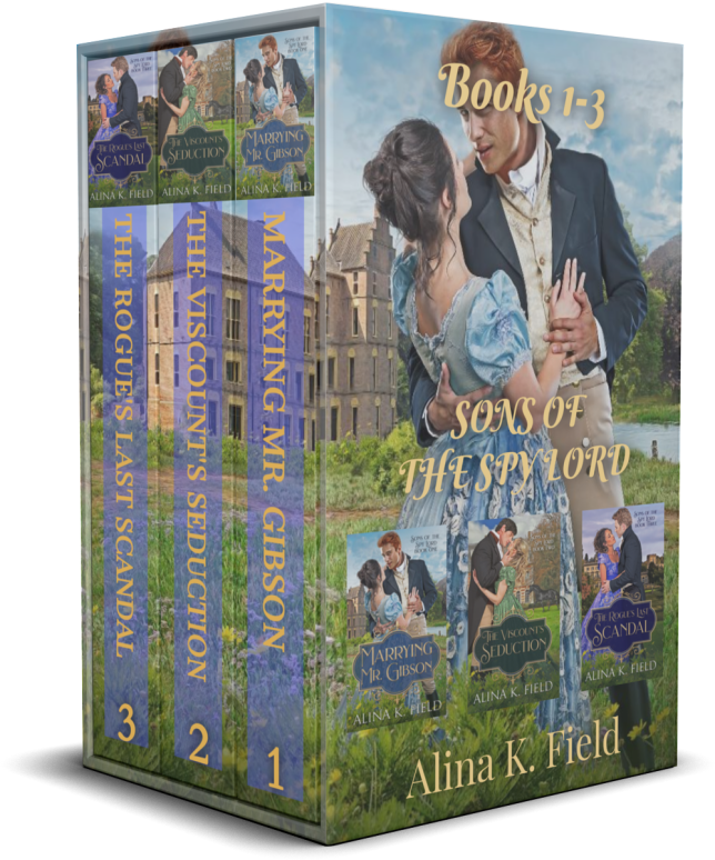Book Cover: SONS OF THE SPY LORD Boxed Set