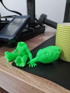 Model Groot imprimanta 3D