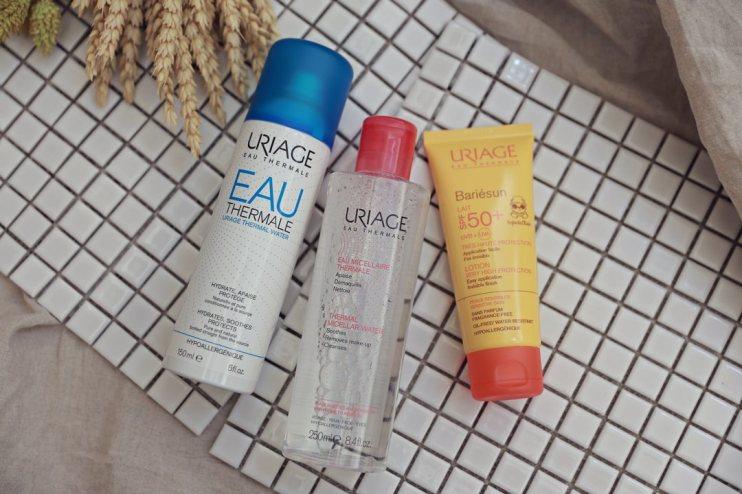 【保養】從清潔到保養好物推薦~Uriage 優麗雅夏日防曬、保養潔膚水、活泉噴霧