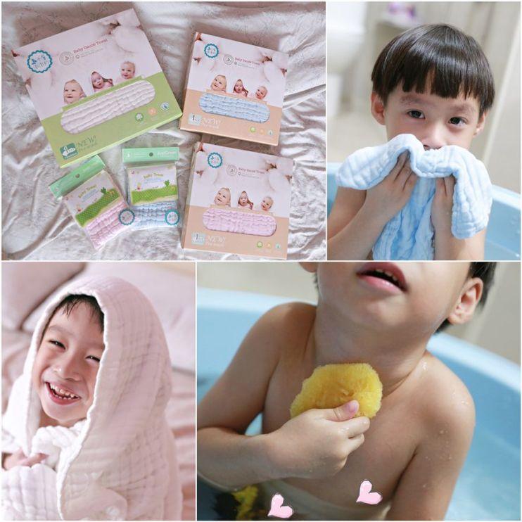 【Baby】給寶寶最好的英國JustGreen天然棉製品&Poseidonas希臘愛琴海頂級天然海綿