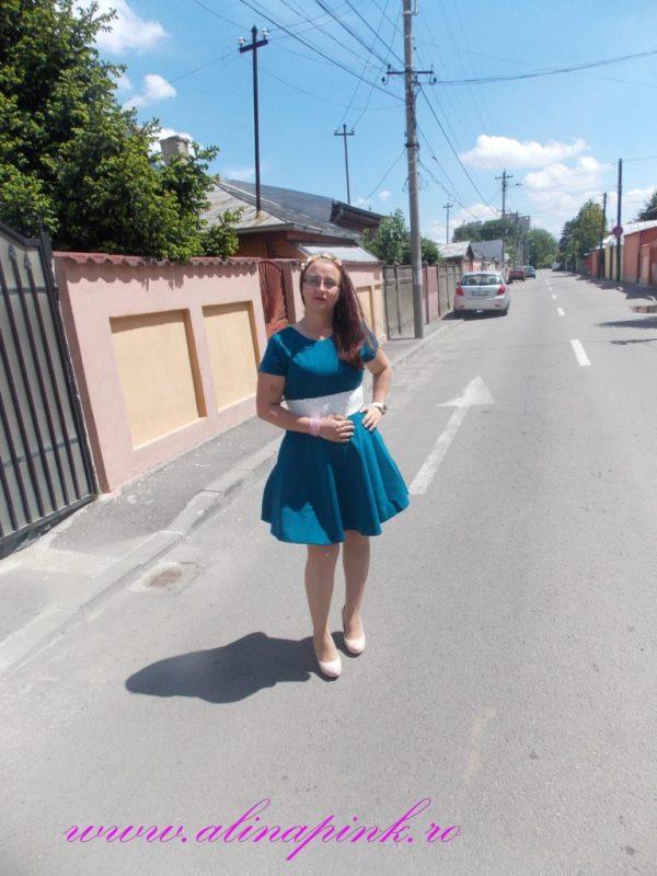rochie verde 1