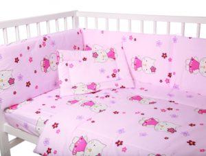 Lenjerie-patut-cu-5-piese-Kitty-Pink-74558-0