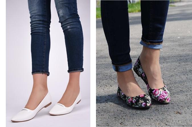 Balerini sau pantofi cu toc