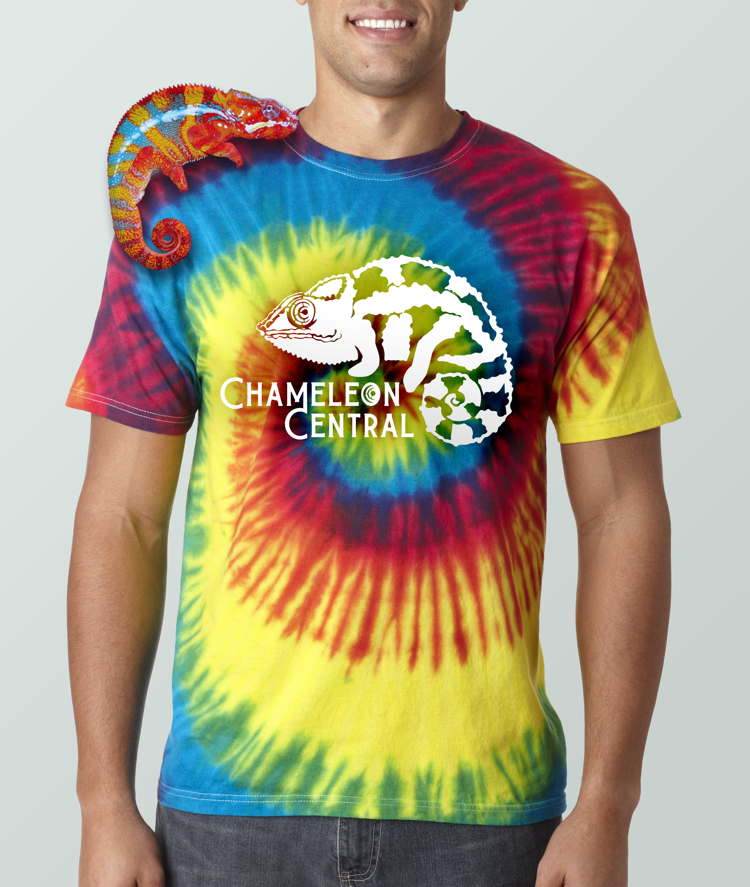Chameleon Central Tie Dye Shirt