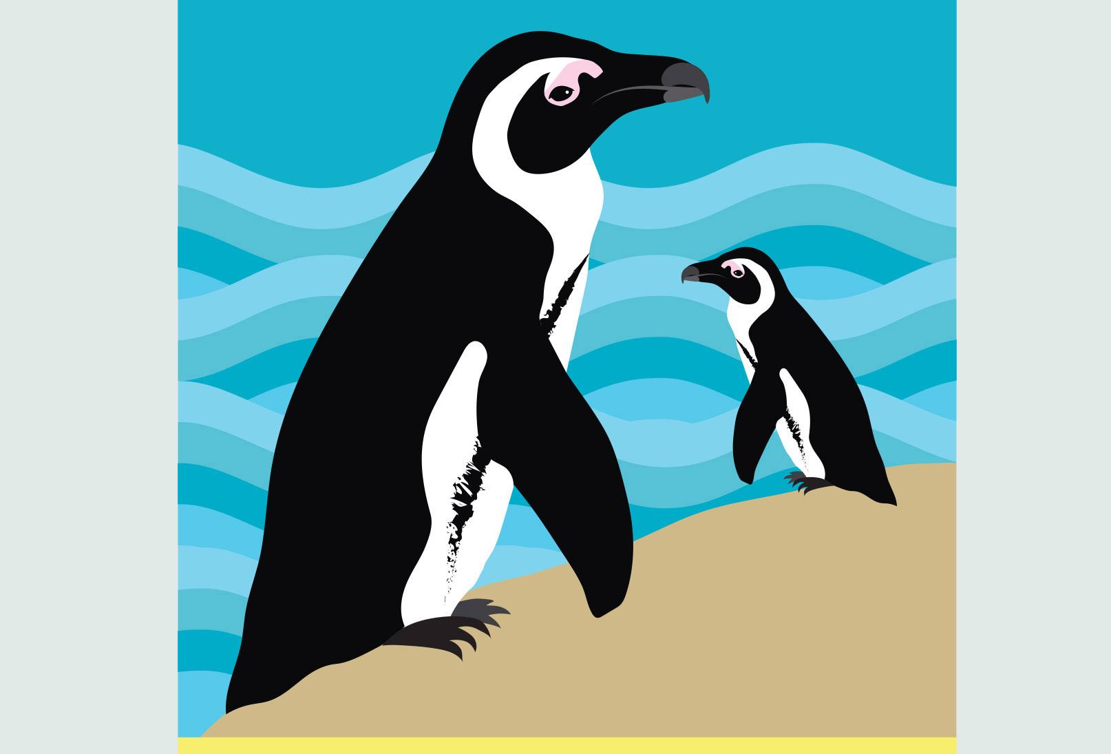 Illustration Detail 1 New York Aquarium Brochure