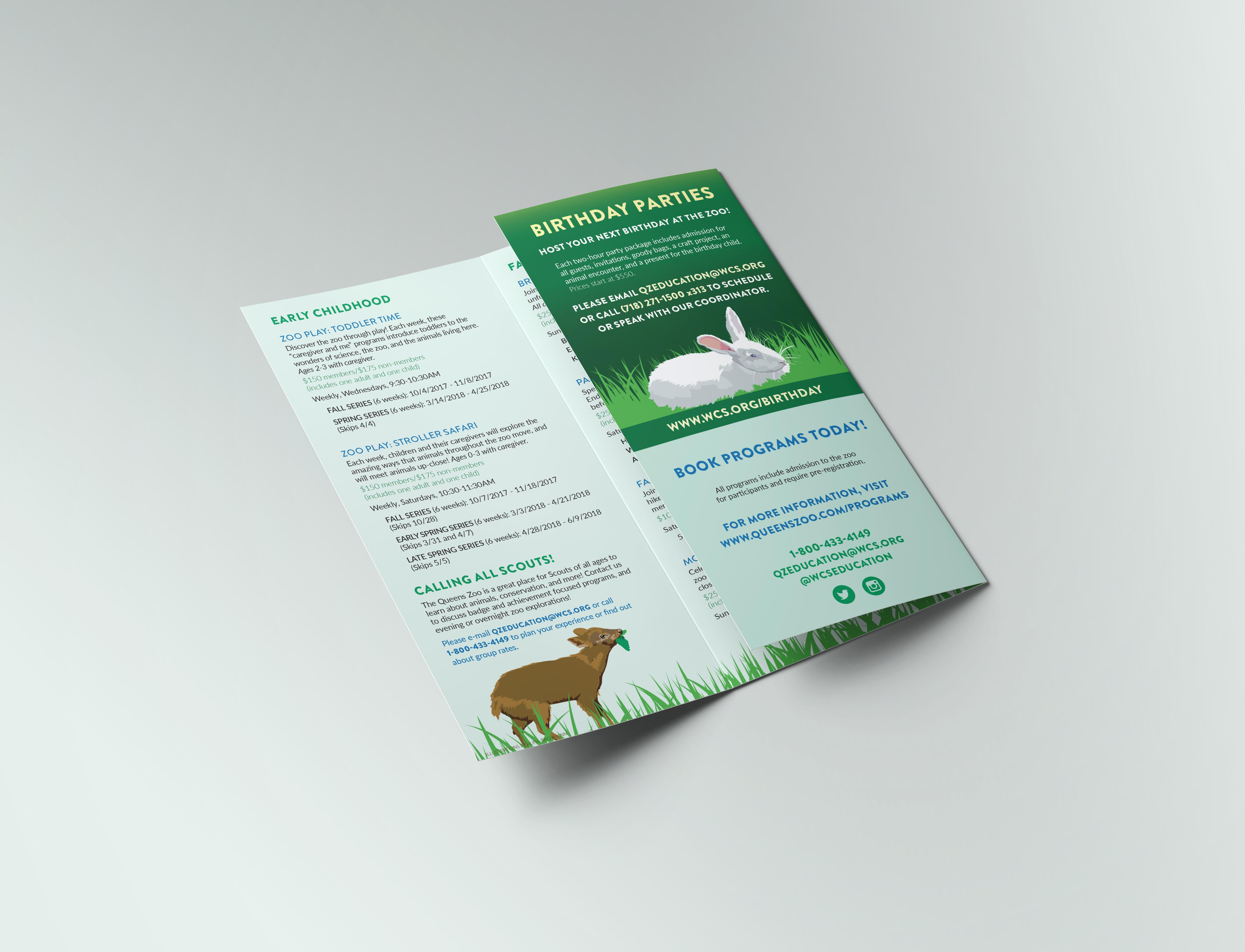 Queens Zoo Brochure