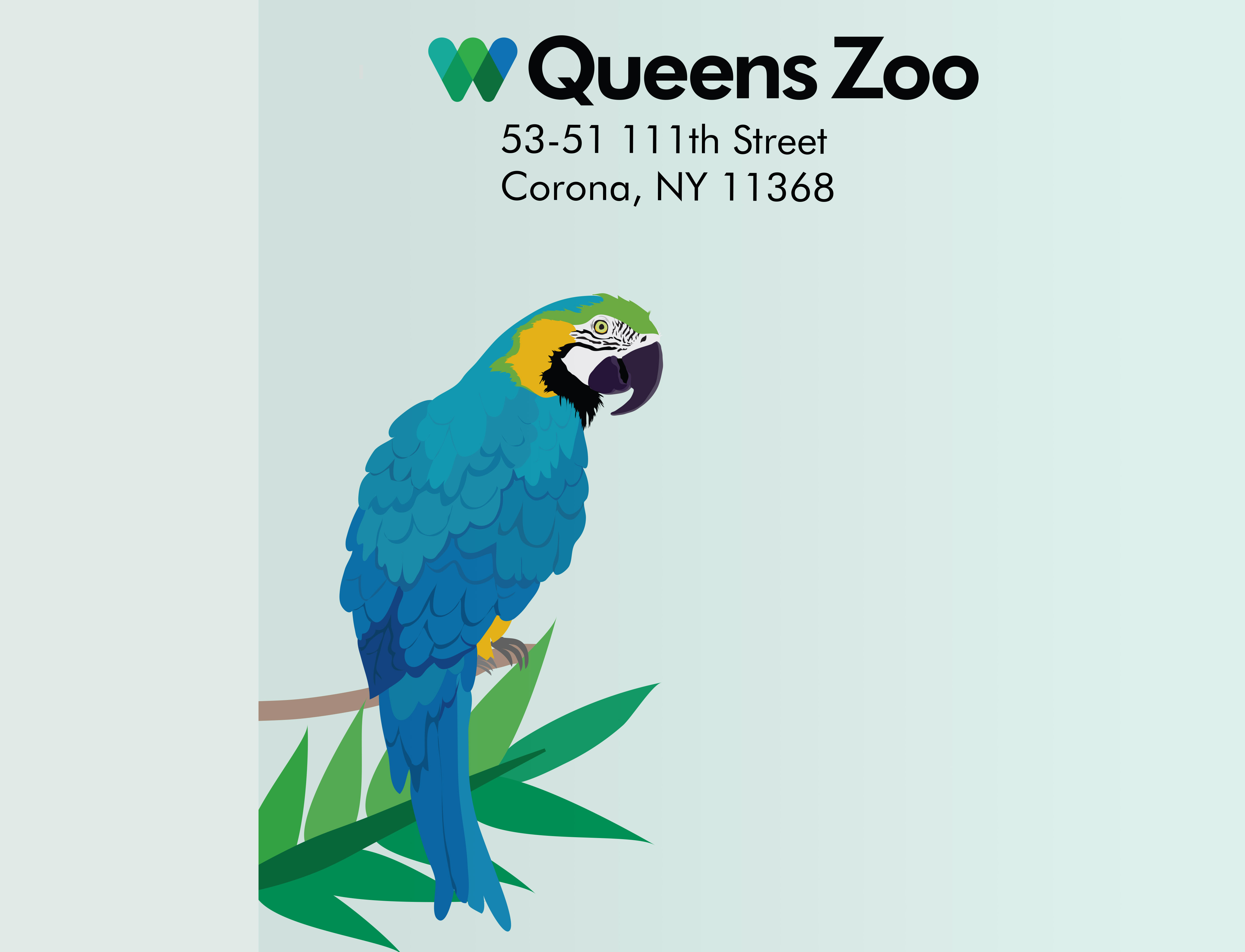 Illustration Detail 1 Queens Zoo
