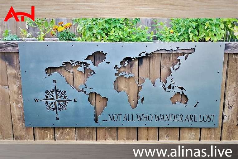 Read more about the article Metal laser cut world map pdf