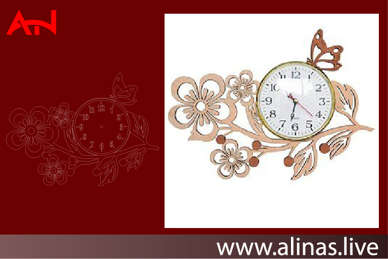 Read more about the article CLOCK CNC LASER CUTTING CDR DXF FILE FREE