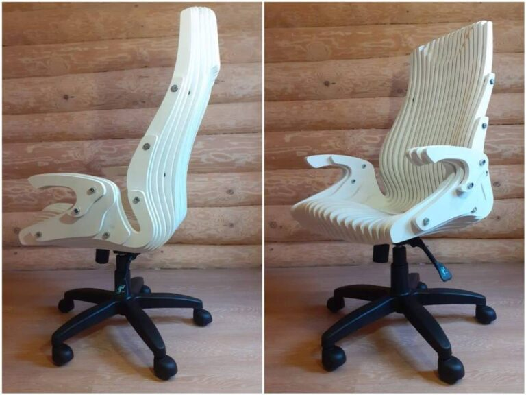 Read more about the article Wooden Parametric Chair dxf