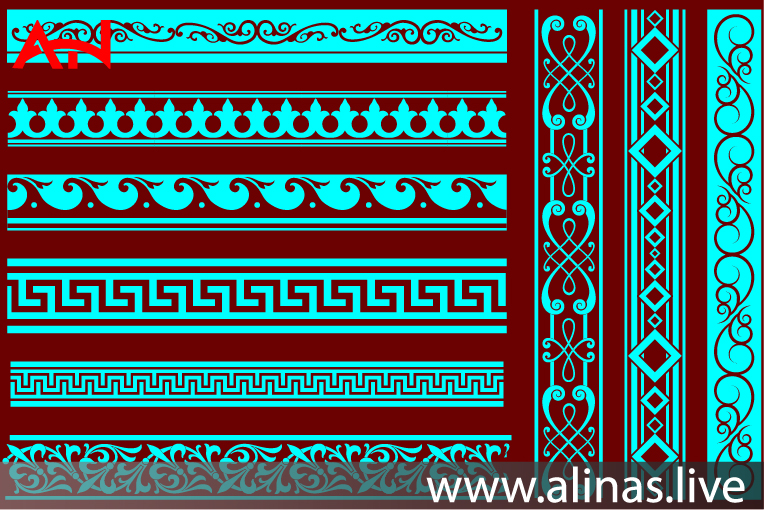 Read more about the article PATTERN ARABESQUE FREE VECTOR DXF