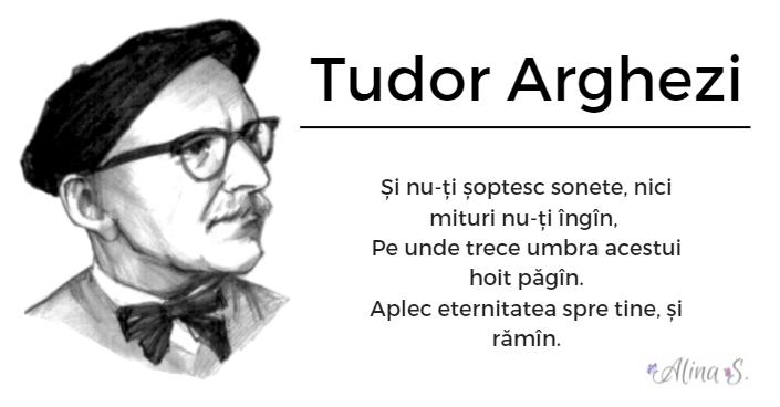 Tudor Arghezi abia plecasesi