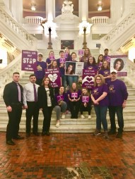 Harrisburg Trip - supporting Anita Kulik's fight for Alina's Law in Harrisburg