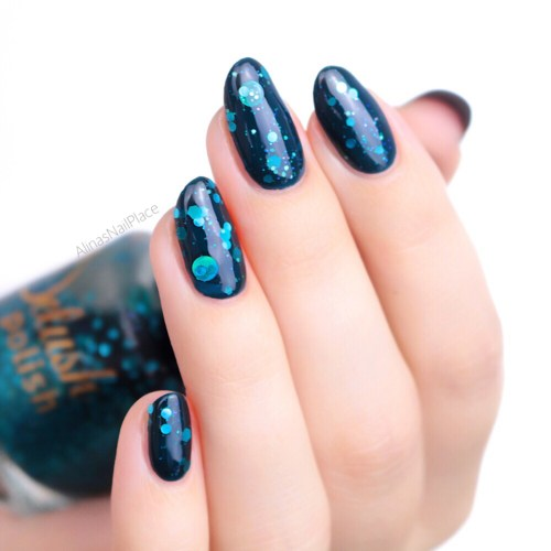 Delush Polish A Night In The Asylum via Harlow & Co