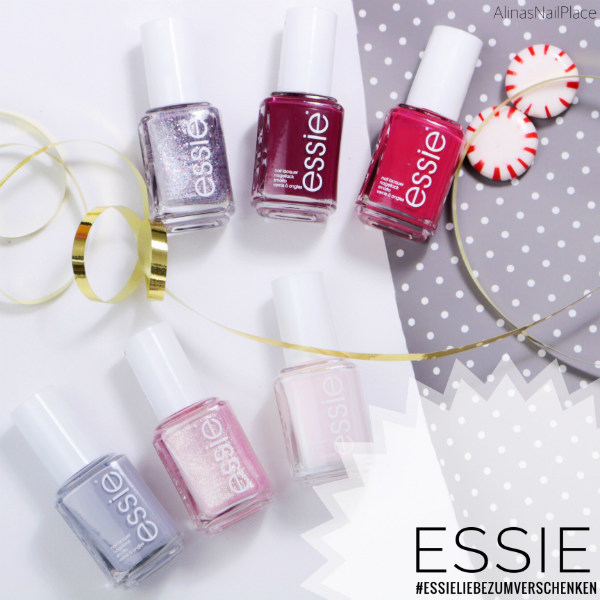 essieliebezumverschenken essie kollektion sheer luck, nailed it, birthday girl, congrats!, the best-est, lieblingsmensch
