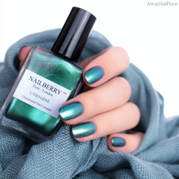 Nailberry Glamazon via Purish