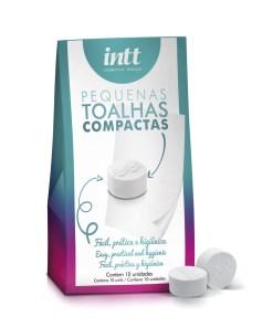 KIT c/10 TOALHAS COMPACTAS - Aline Lingerie