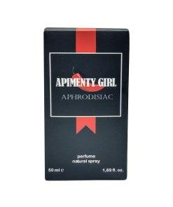 O olfato é um dos sentidos mais subestimados no jogo da sedução e o Perfume Afrodisíaco Apimenty Girl 50ml pode lhe ajudar, e muito, na hora de atrair o sexo oposto ou apimentar sua relação.
