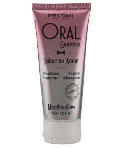 Oral Gourmet Marshmallow- Gel Comestível 35ml Pessini