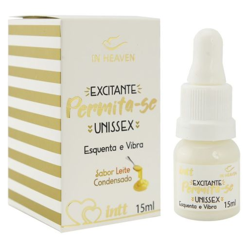Permita-se Excitante Unissex 15ml