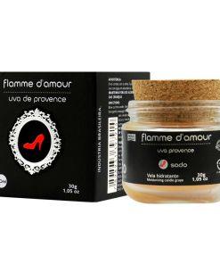 Vela Flamme D'Amour - Uva de Provence 30g Santo