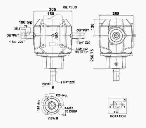 A200 : GENERAL PURPOSE GEARBOXES : GEARBOXES : Product