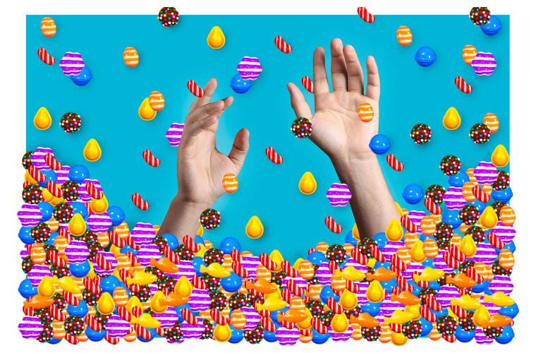 3 Formas de perder tempo e destruir seu futuro de forma eficaz - candy crush