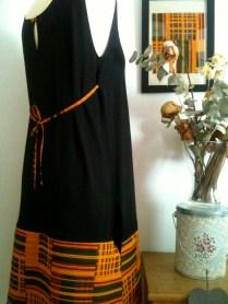 vestido costado