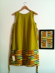 Pistacho Vetido corto short dress 50€