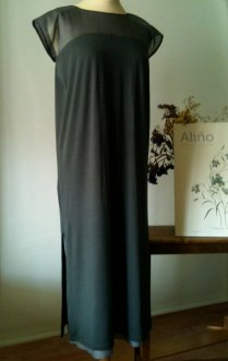 Vestido gris marengo Dark grey dress 60€